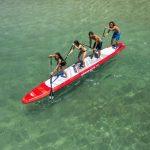 台灣【SUP立槳體驗】4人團隊SUP競賽、親子龍舟同樂體驗